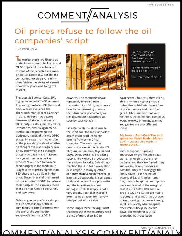 No.6 CA Oil prices p1